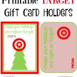Teacher Gift Idea: Printable Target Gift Card Holders