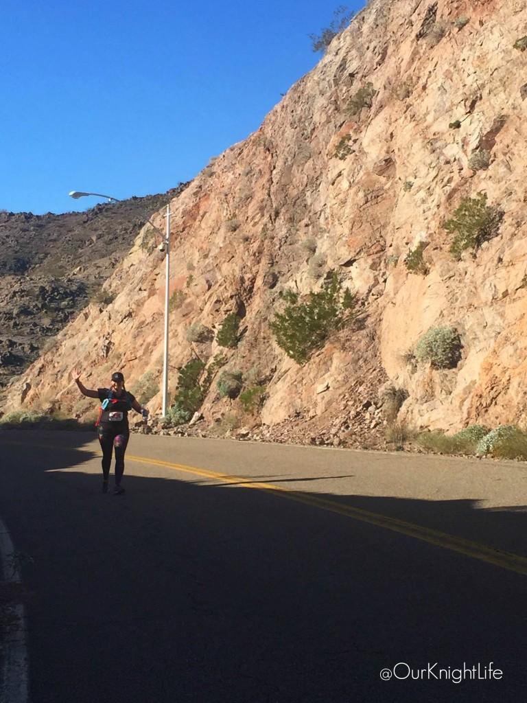 Running Hills at a Half Marathon (Mizuno Wave Inspire 12)