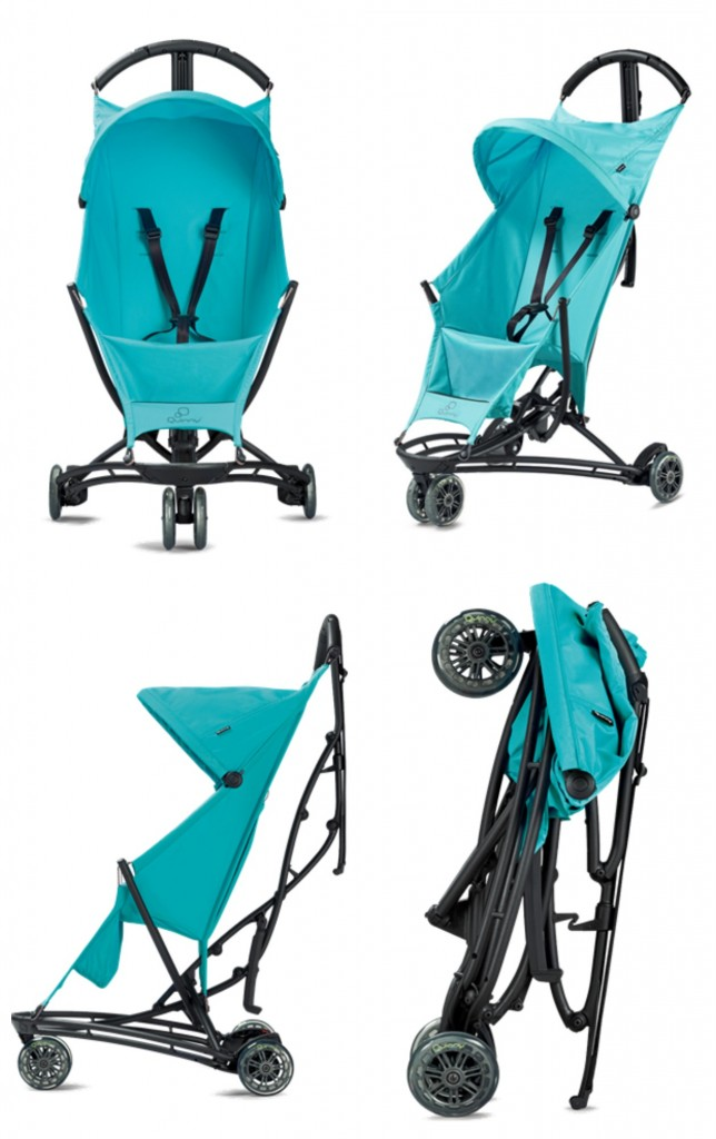 Quinny Yezz - The easiest travel stroller!