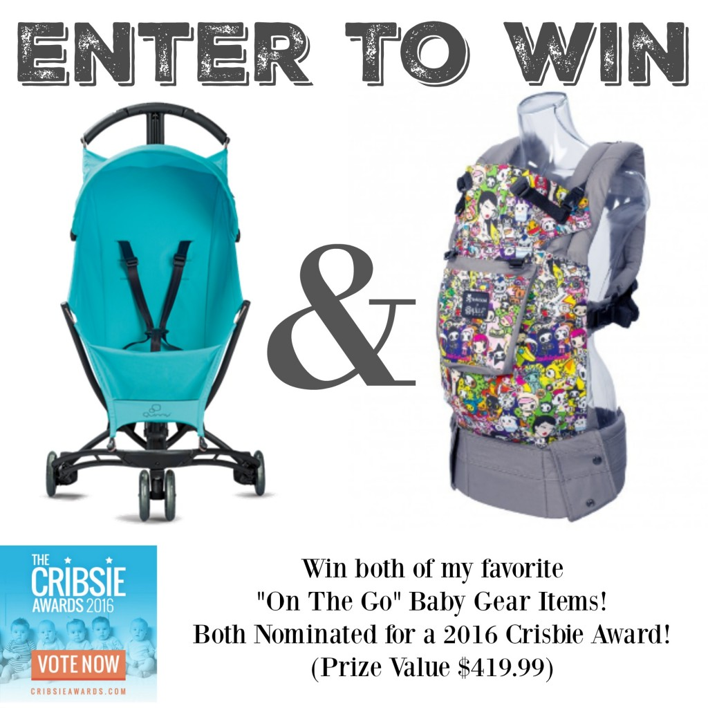 Win a Quinny Yezz and Lillebaby Baby Carrier!