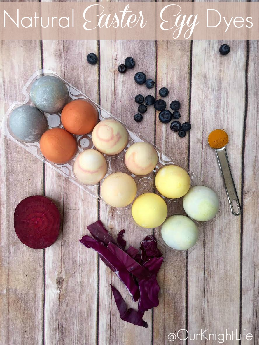 How to use food to make natural Easter egg dye