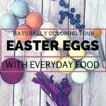 Using Food to Make Natural Easter Egg Dye