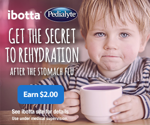Rehydrate with Pedialyte