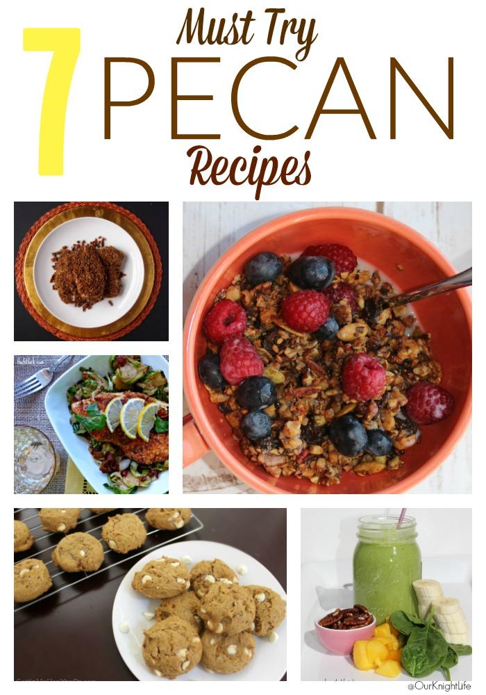 National Pecan Day- Seven Healthy Pecan Recipes