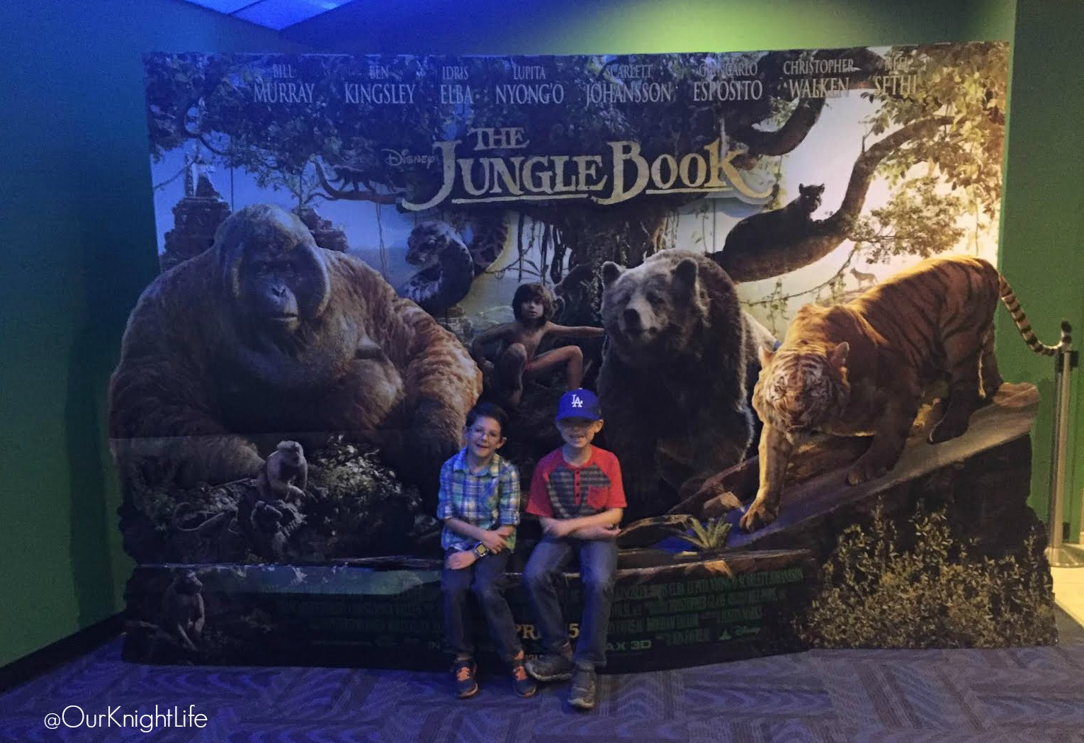 The Jungle Book at AMC Prime at Dolby Cinema