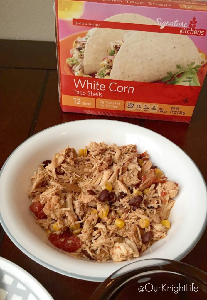Salsa Chicken Tacos - Signature product Line from VONS