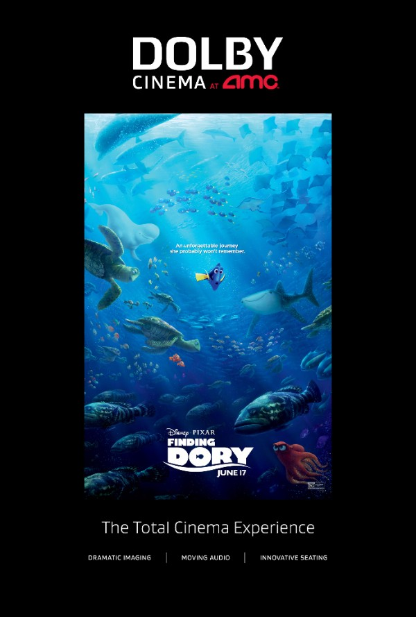 Finding Dory at Dolby Cinemas AMC Prime