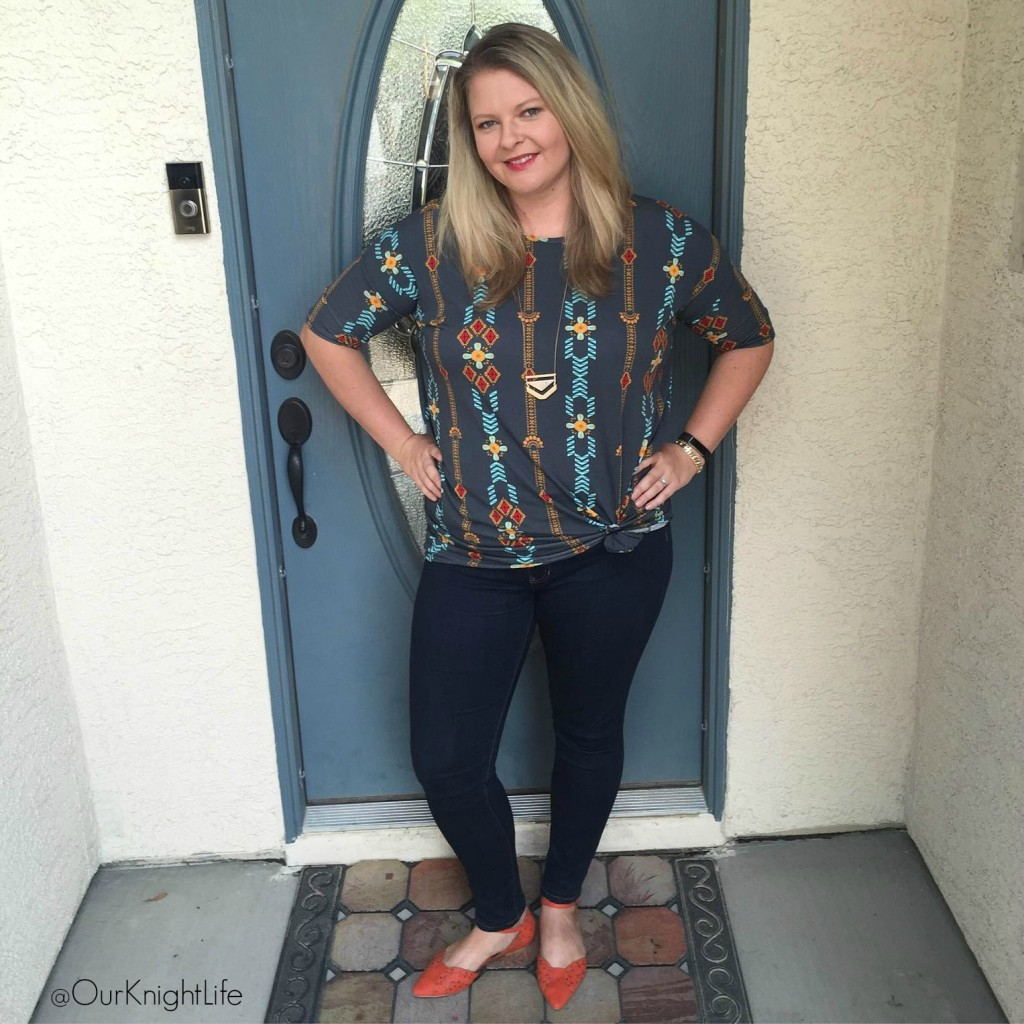 LuLaRoe Emily Knight - Irma Top