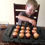 Mini Pumpkin Cupcakes #MixUpAMoment