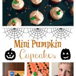 Mini Pumpkin Cupcakes #MixUpAMoment