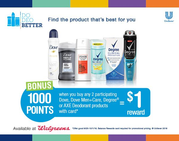 DoDeoBetter - Walgreens Coupon/Offer