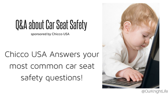 Frequently asked Car Seat Questions + Chicco KeyFit 30 Infant Car Seat Giveaway