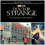 Win a Family 4-Pack of Tickets to See Doctor Strange in Dolby Cinemas at AMC