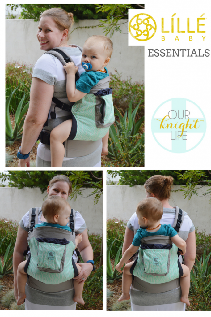 LILLEbaby Essentils baby Carrier line - Original Boardwalk print