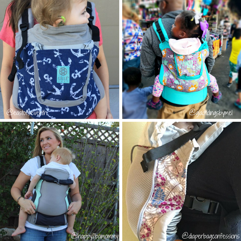 New Prints! Lillebaby Essentials Baby Carrier - Original & All Seasons