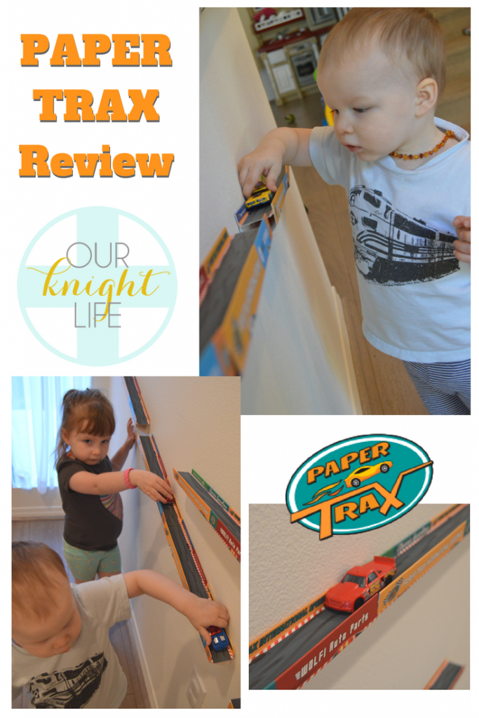 Paper Trax Review Matchbox Cars Race Track Recycled