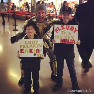 Vegas Golden Knights, The Golden Knight, Knight Brothers, Knight Life, Our Knight Life