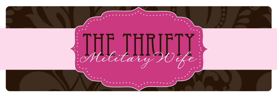 The Thrifty Military Wife